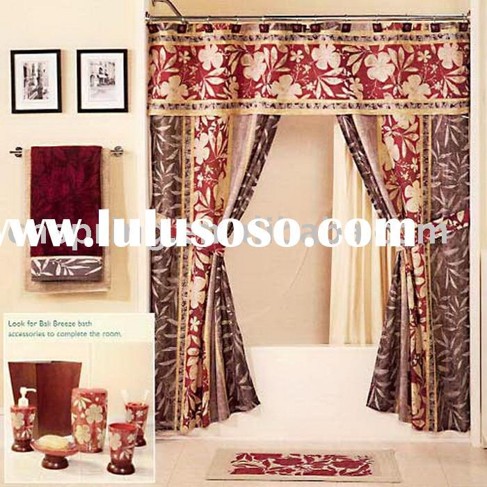 Shower Curtains With Valance Attached