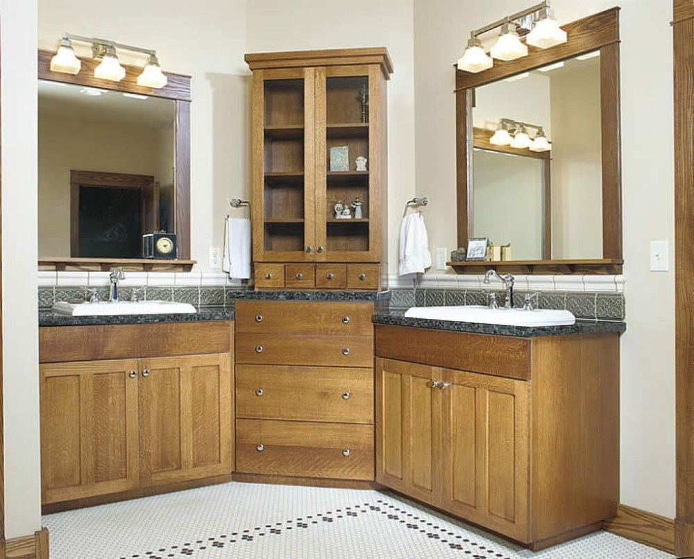 Simple Bathroom Cabinet Designs