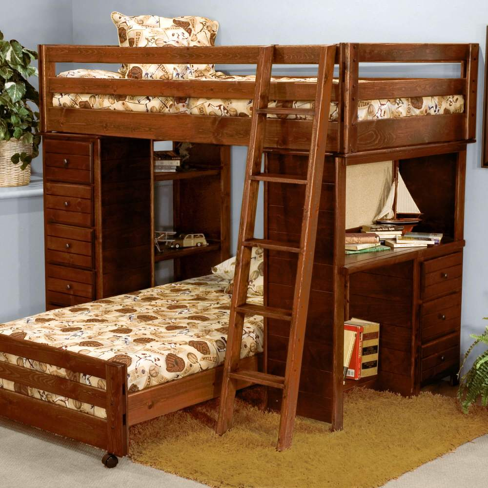 Simple Double Bed For Kids