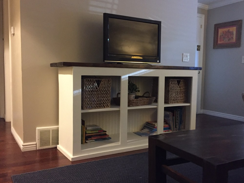Sliding Door Tv Stand Diy