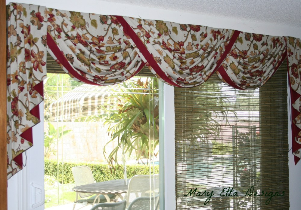 Sliding Door Valance