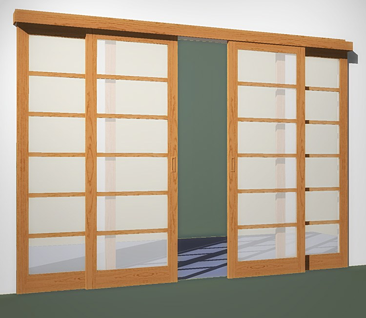 Sliding Japanese Room Dividers