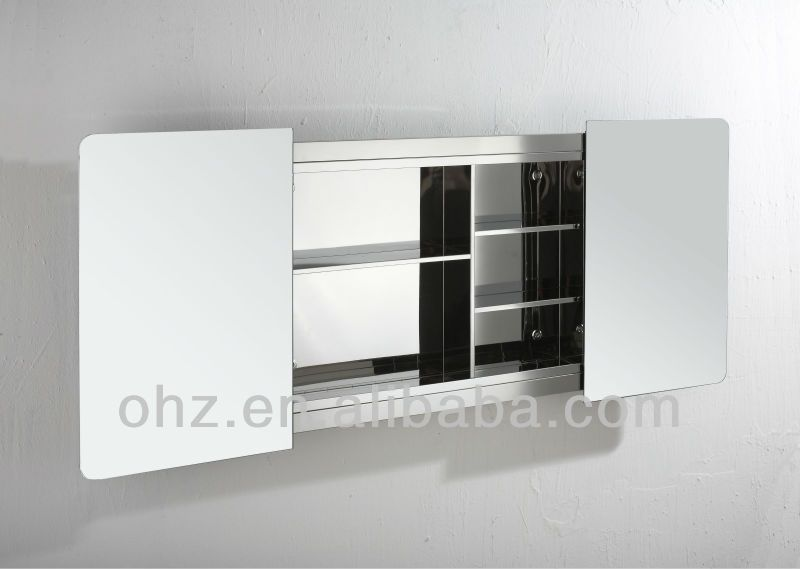 Sliding Mirror Bathroom Cabinet
