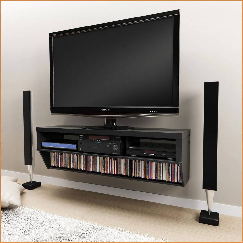 Slim Tv Stand With Mount