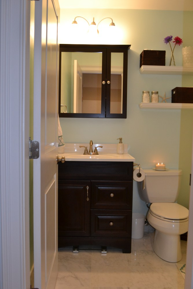 Small Bathroom Cabinet Design Ideas