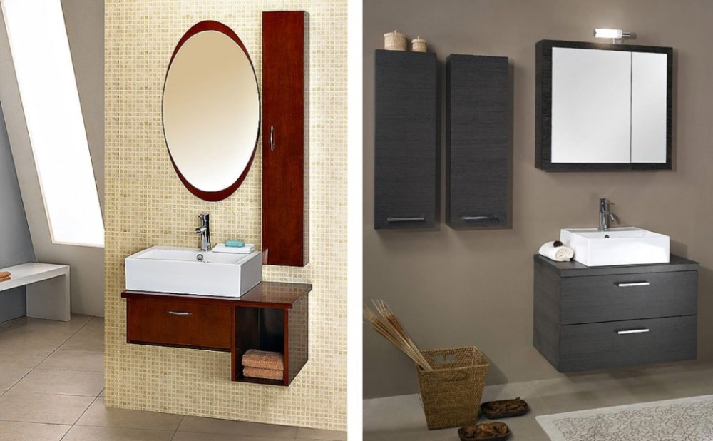 Small Bathroom Cabinet Design