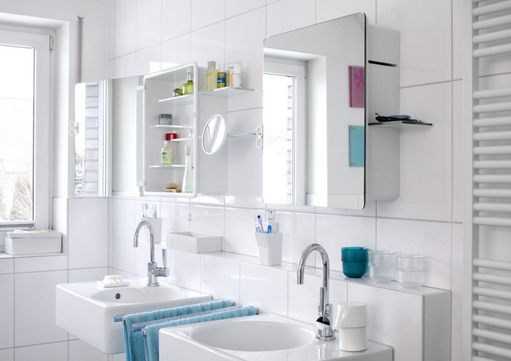 Small Bathroom Cabinet With Mirror