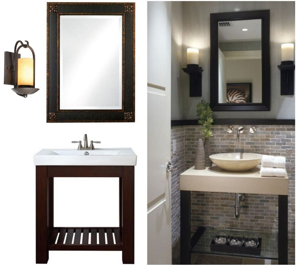 Small Bathroom Mirror With Storage