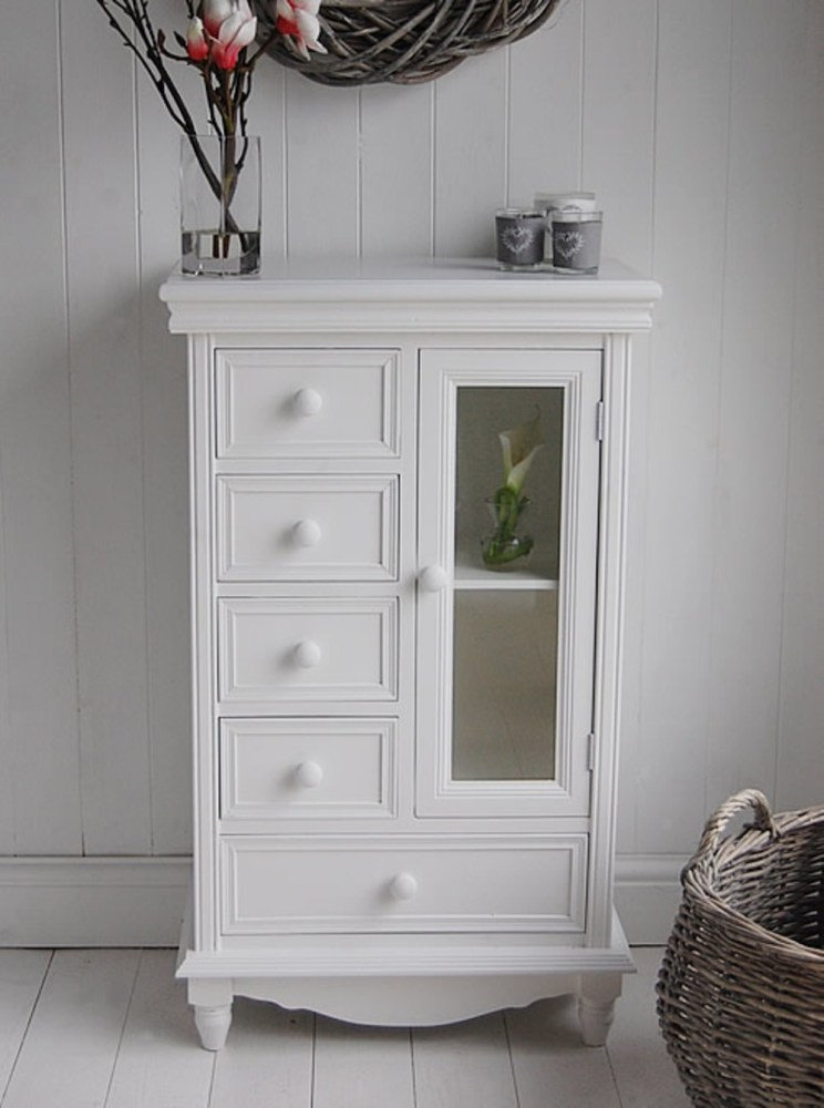 Small Bathroom Storage Cabinet With Drawers