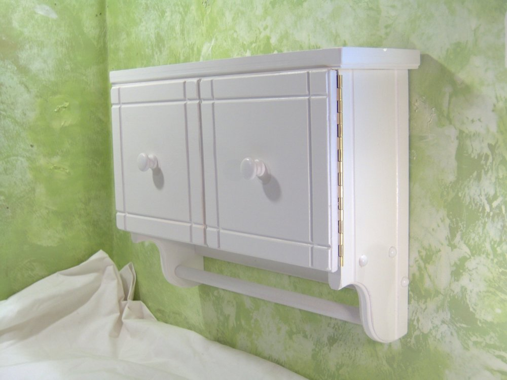 Small Bathroom Wall Cabinets White