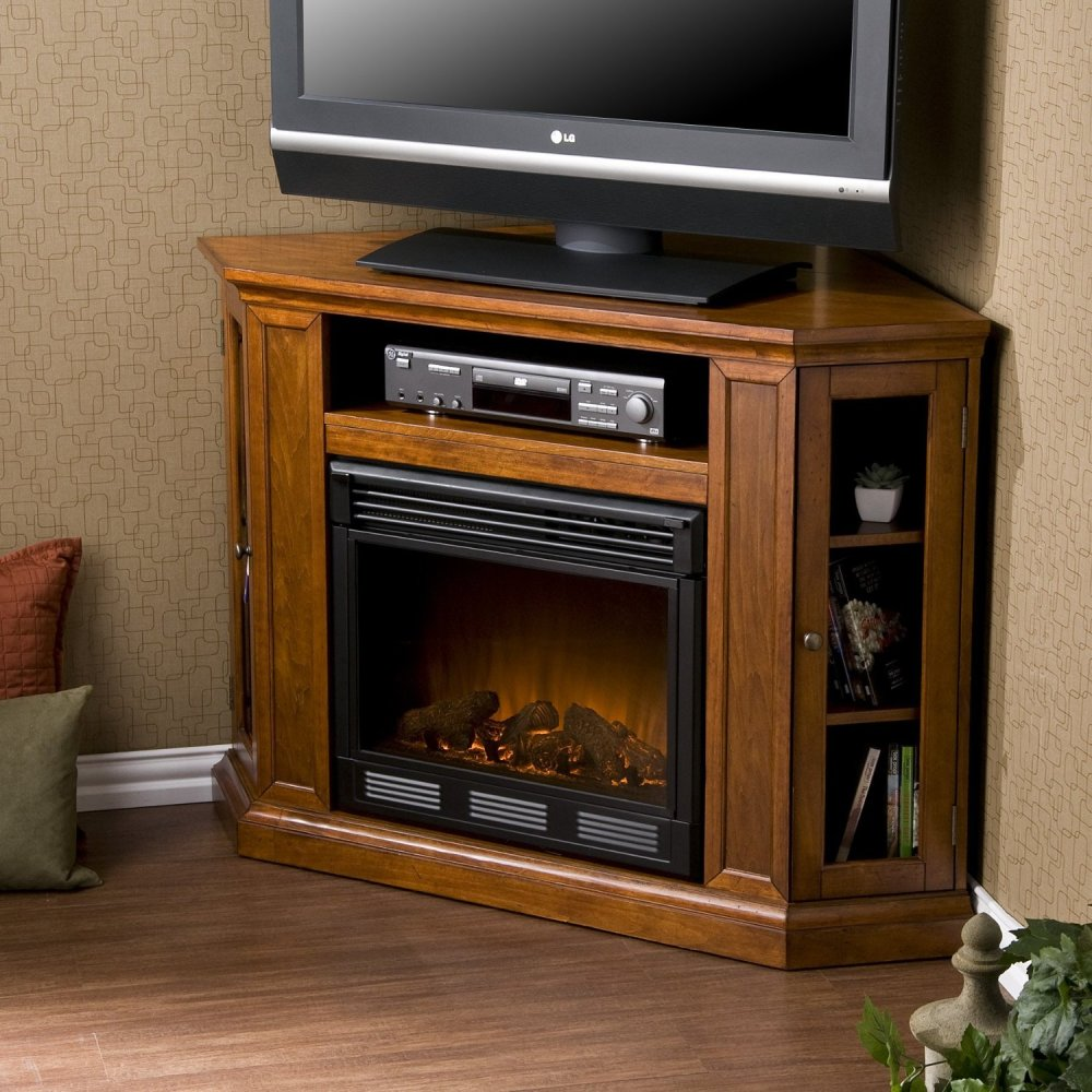 Small Electric Fireplace Tv Stand