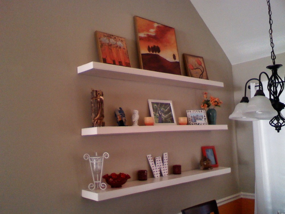 Small Floating Shelves Diy