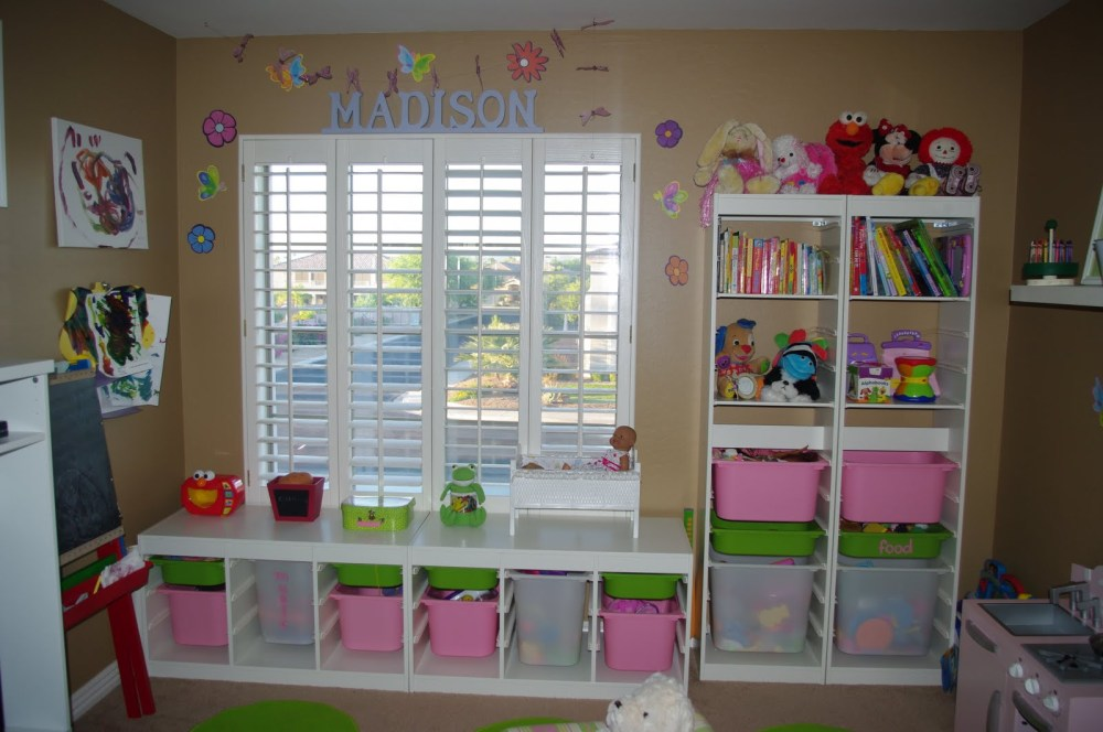 Small Kids Bedroom Storage Ideas