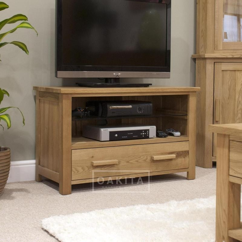 Small Oak Tv Stands