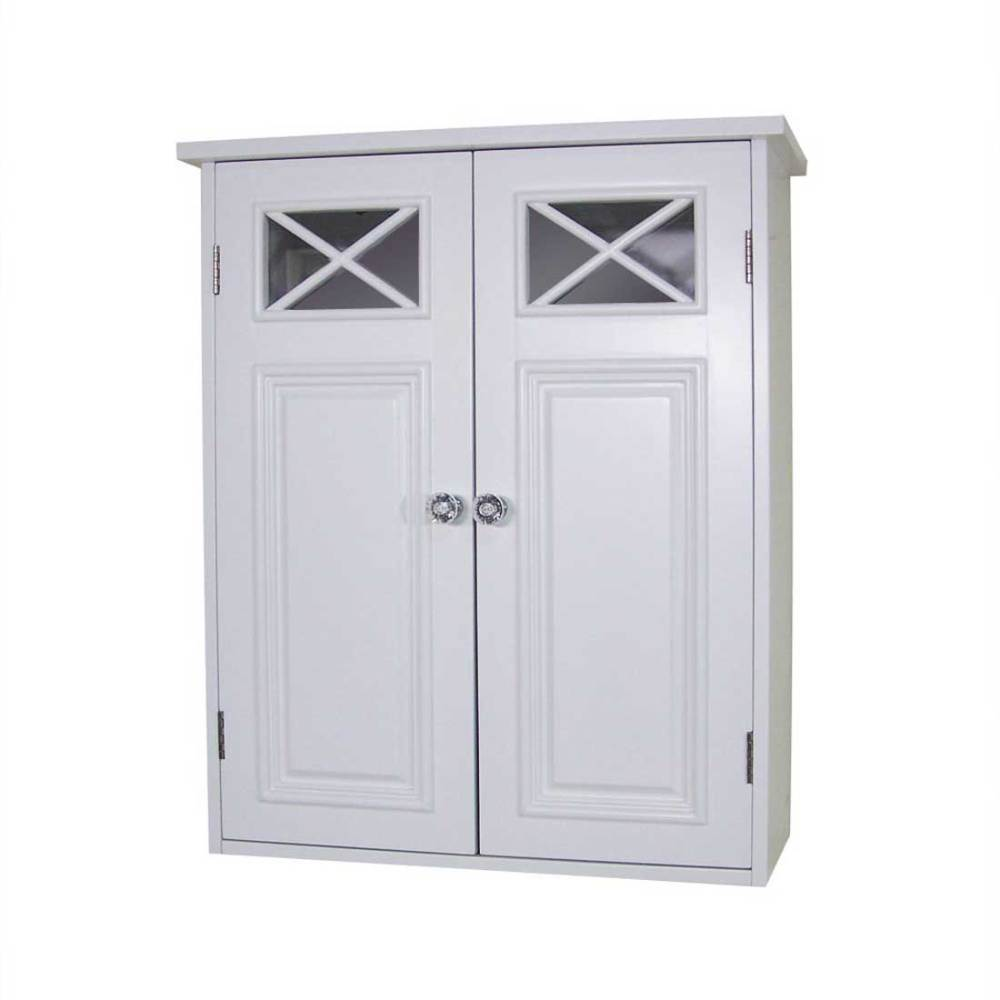 Small White Bathroom Wall Cabinet