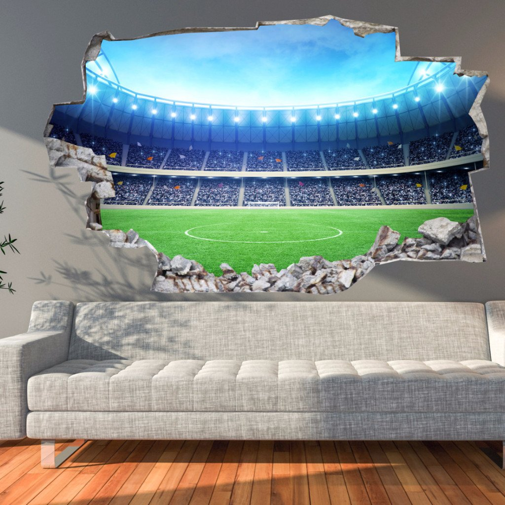 Soccer Stadium Wall Decals