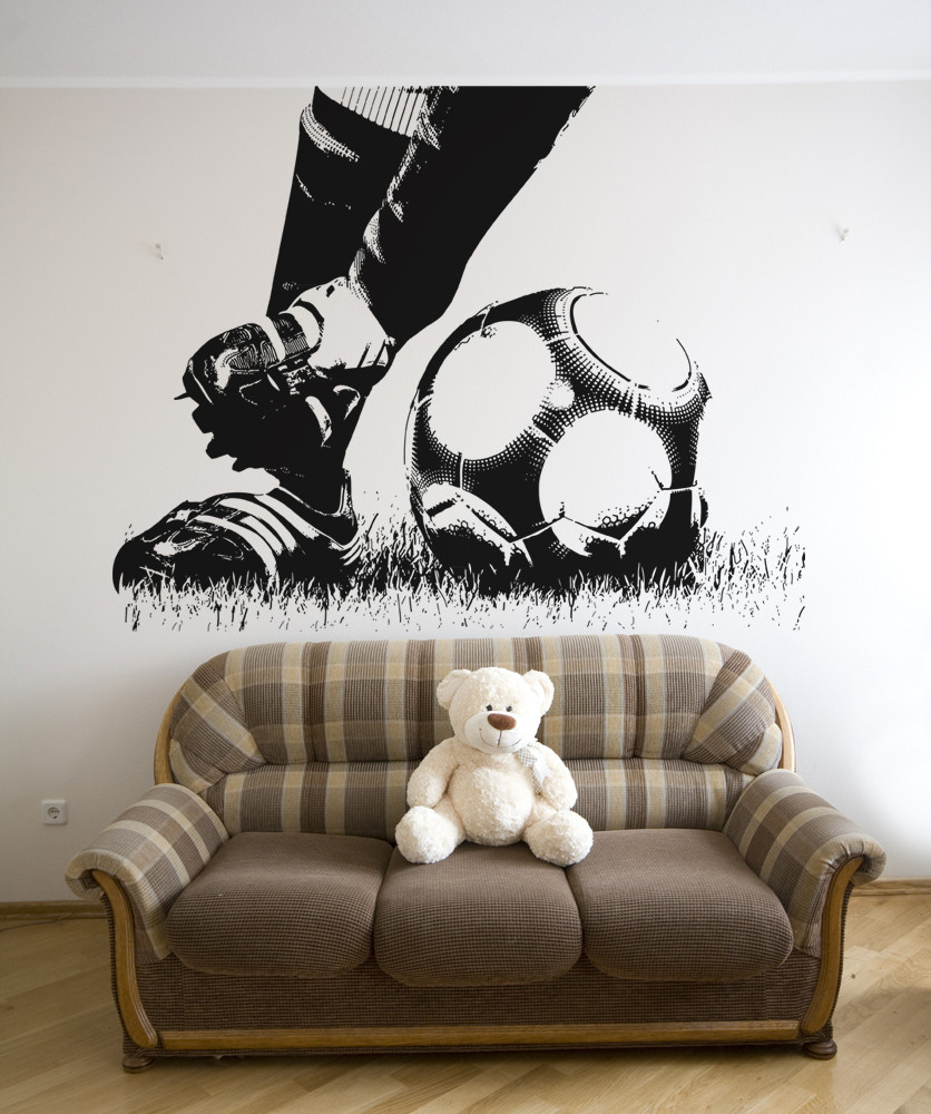 Soccer Vinyl Wall Decals