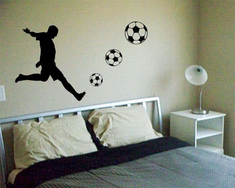 Soccer Wall Decals For Girls