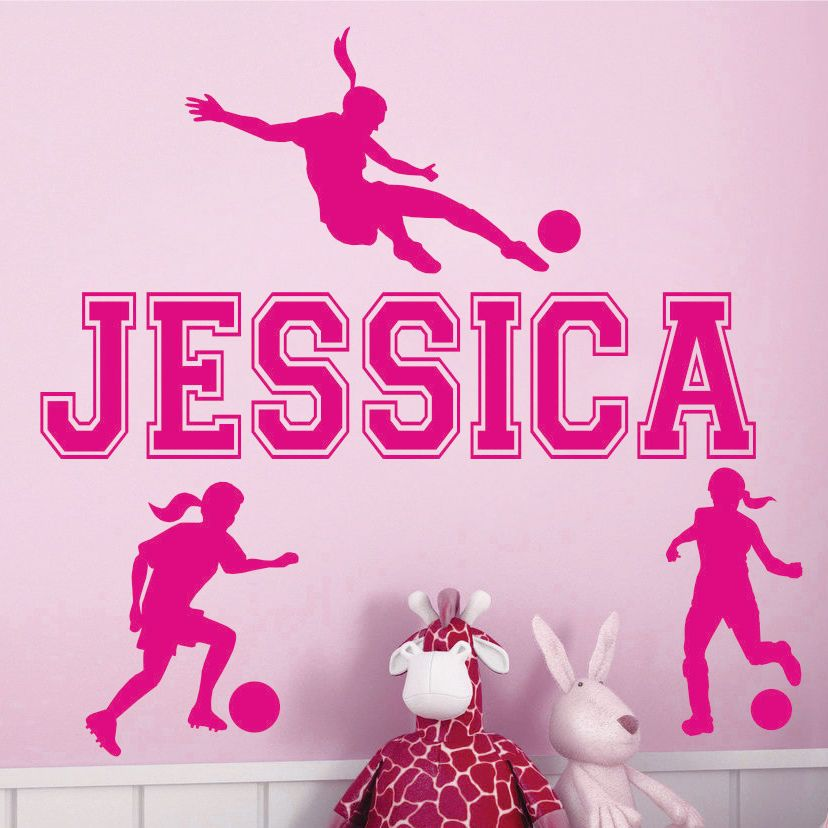 Soccer Wall Mural Decals