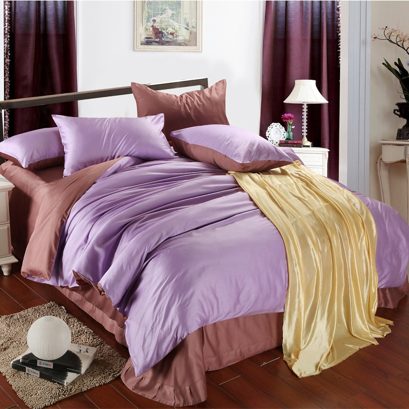 Solid Brown Comforter Sets