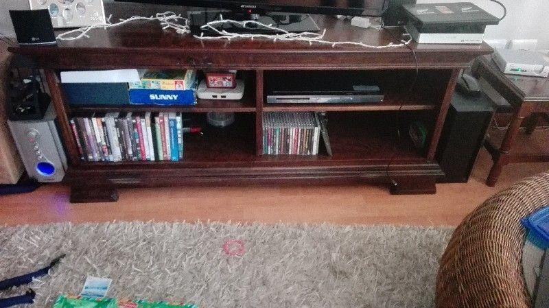Solid Oak Tv Stand Sale