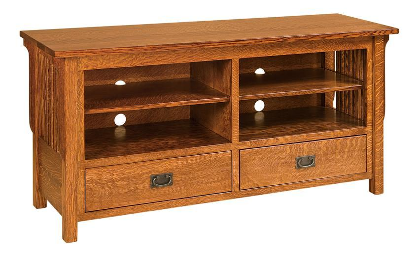 Solid Oak Tv Stands For Flat Screen