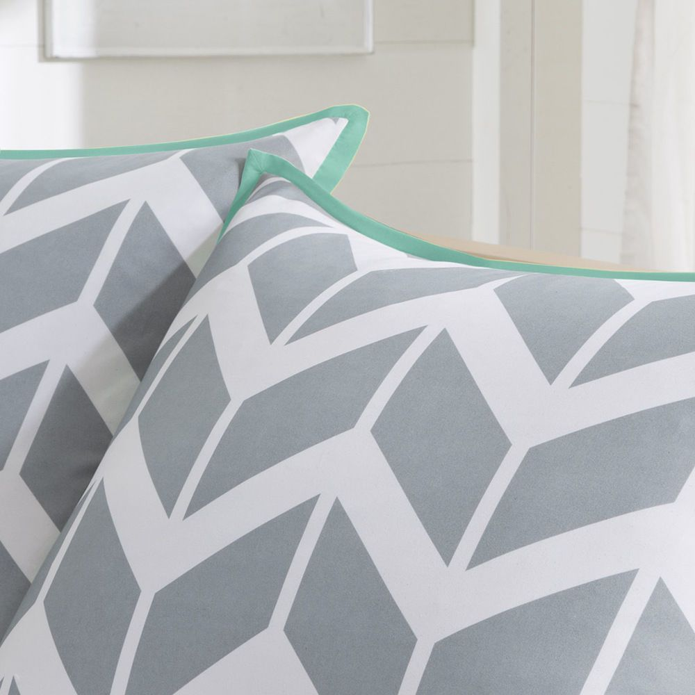 Solid Teal Comforter Set