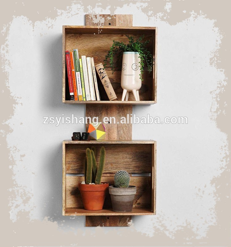 Solid Wood Floating Shelves Brackets
