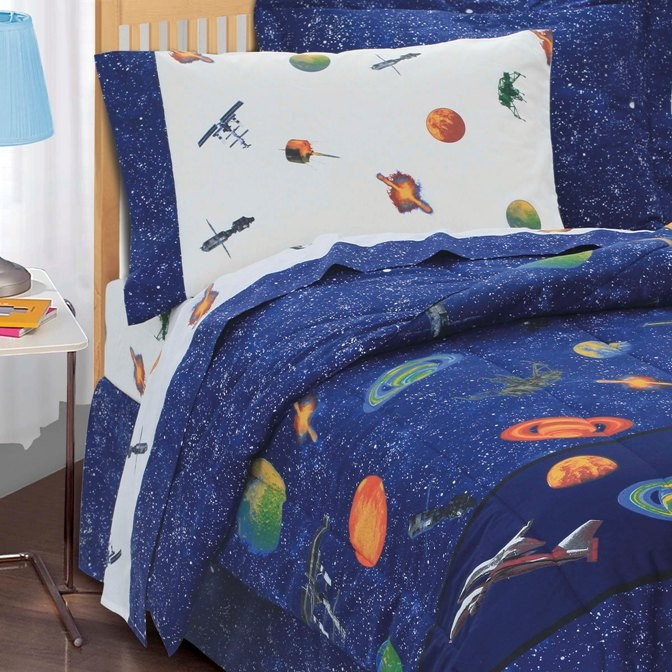 Space Comforter Set Full