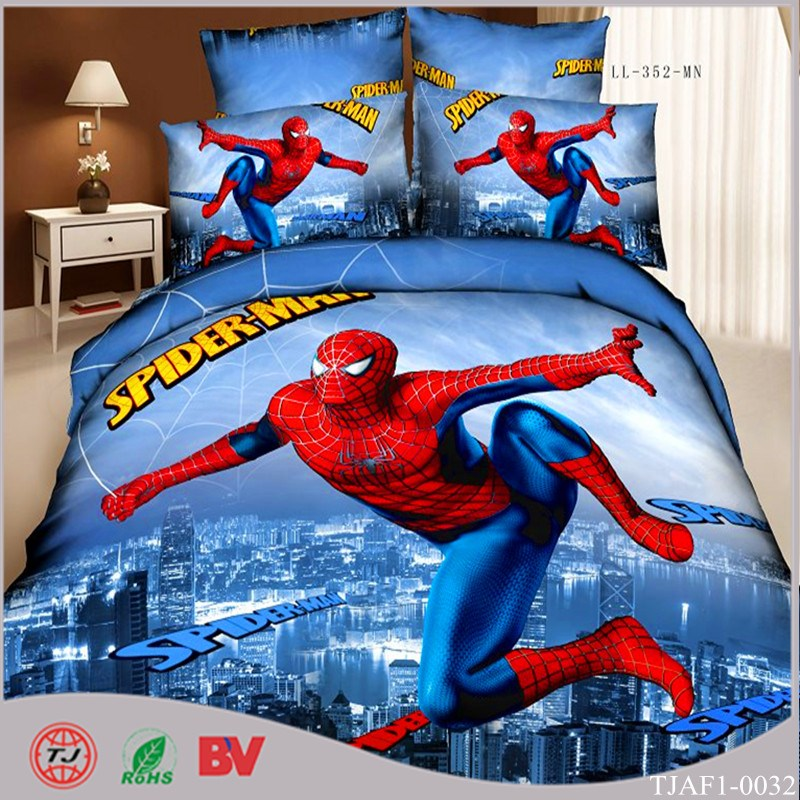 Spiderman Comforter Set Full