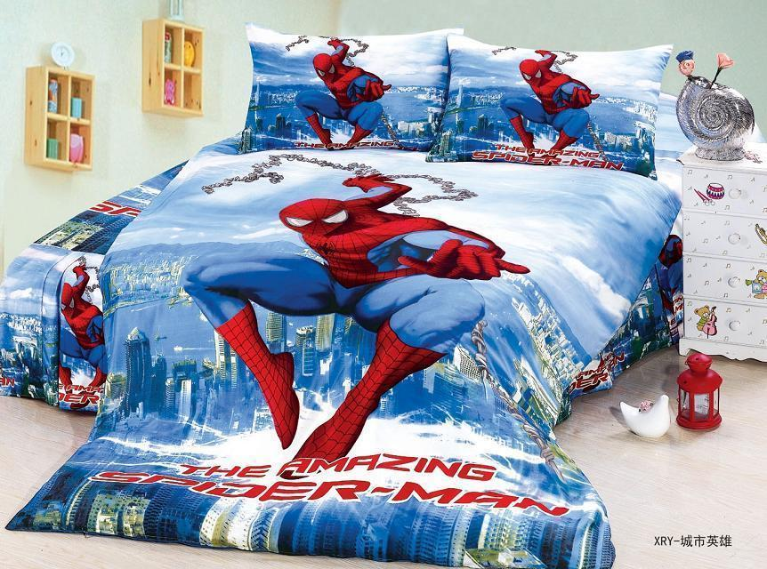 Spiderman Comforter Set