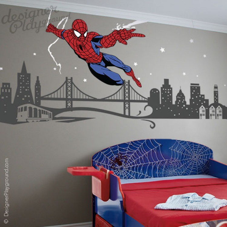 Spiderman Wall Decals Australia