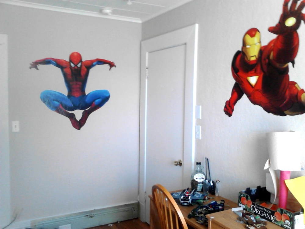 Spiderman Wall Decals Giant