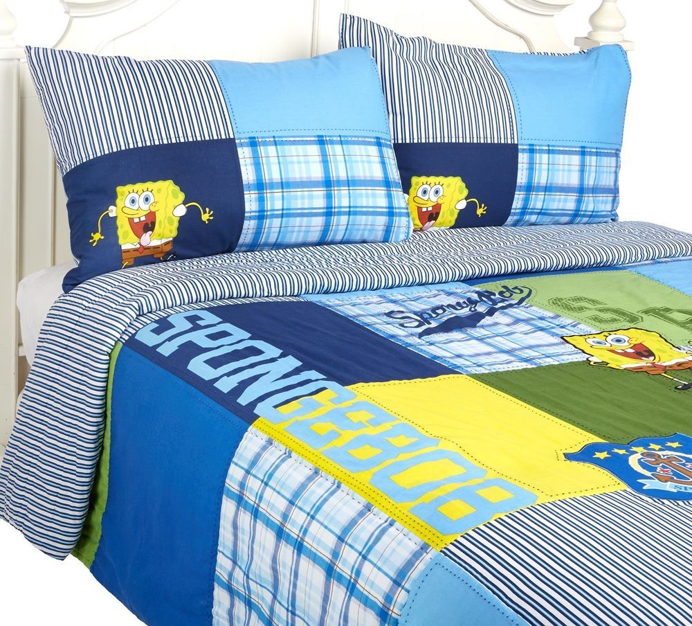 Spongebob Comforter Set Full