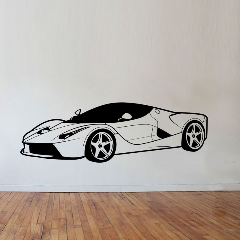 Sports Car Wall Decals