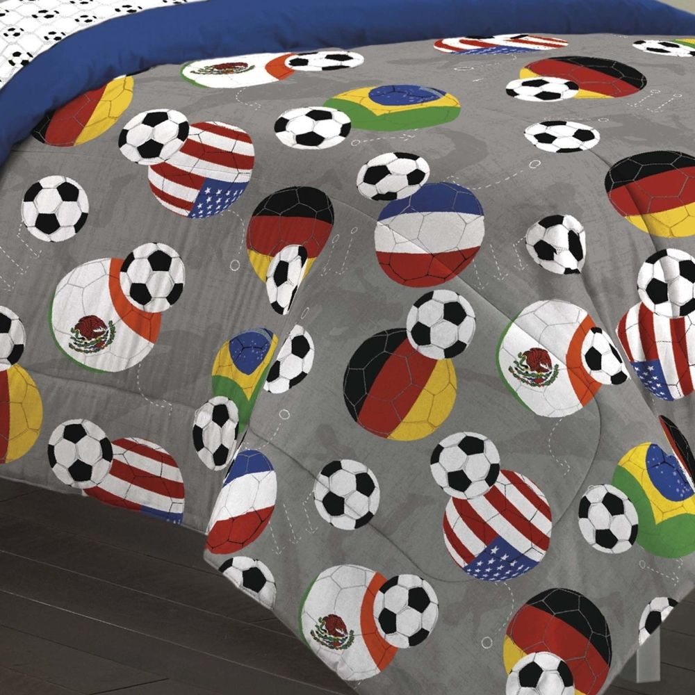 Sports Comforter Set Full Size