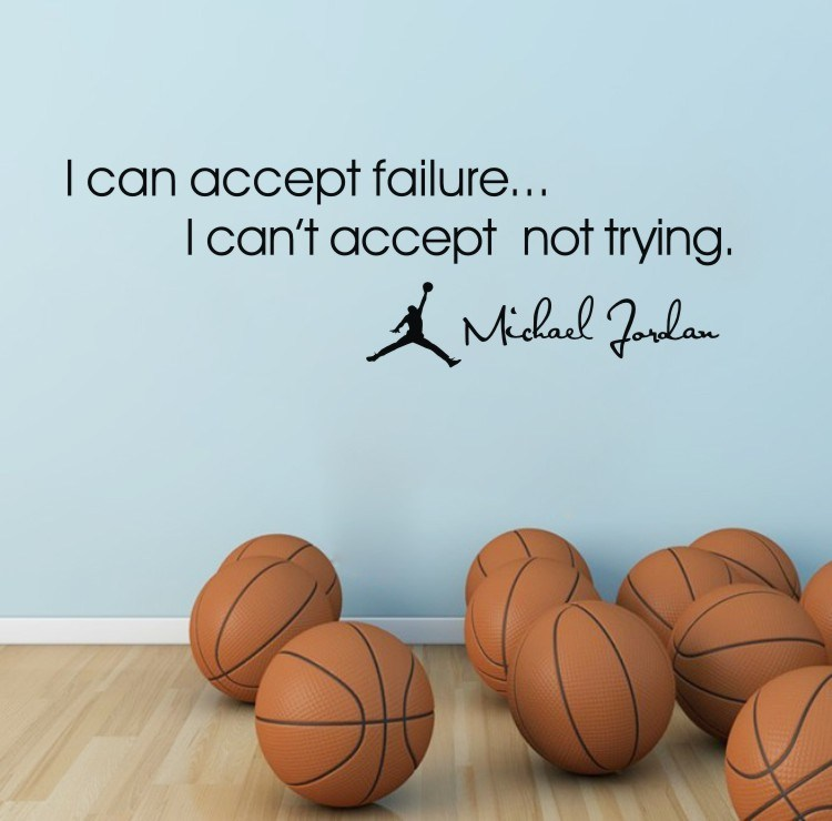 Sports Quotes Wall Decals