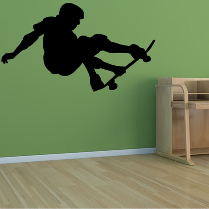 Sports Silhouettes Wall Decals