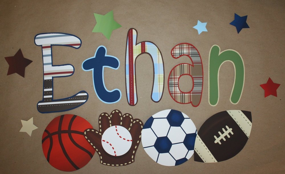 Sports Wall Decals For Nursery