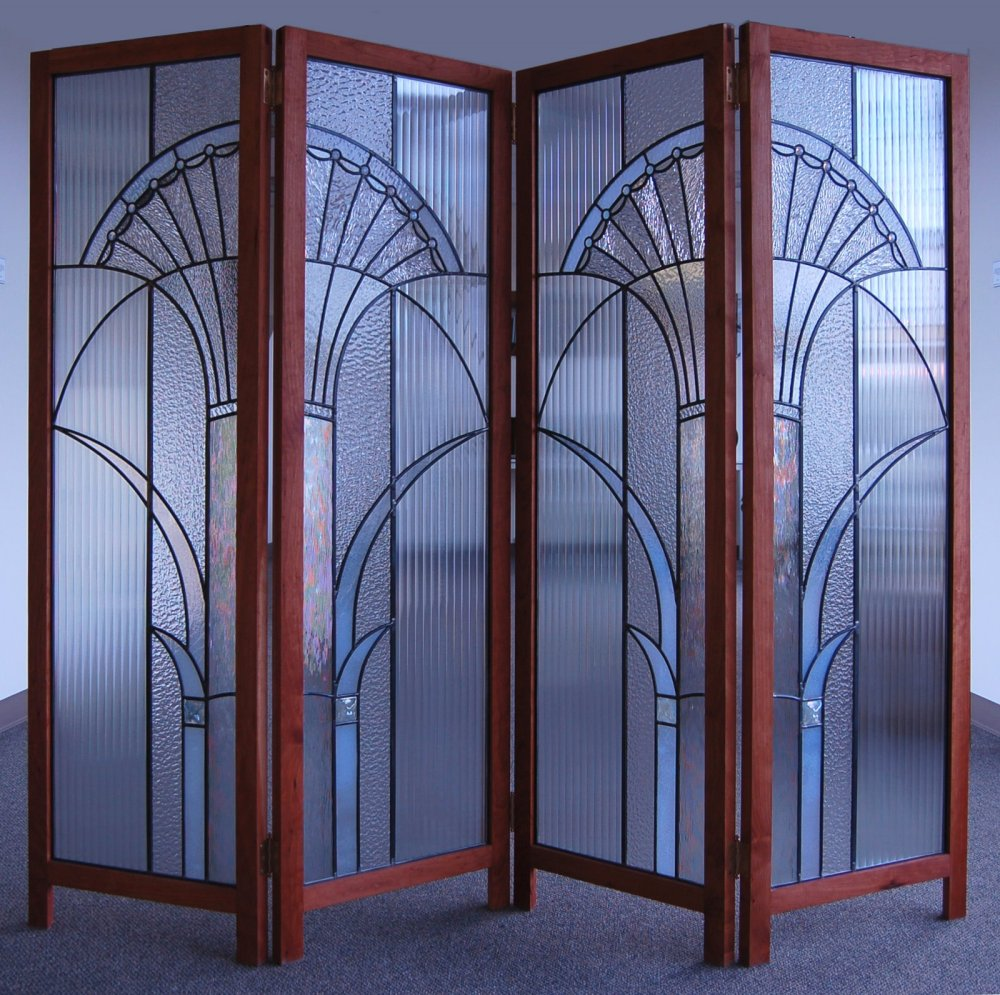 Stained Glass Room Divider