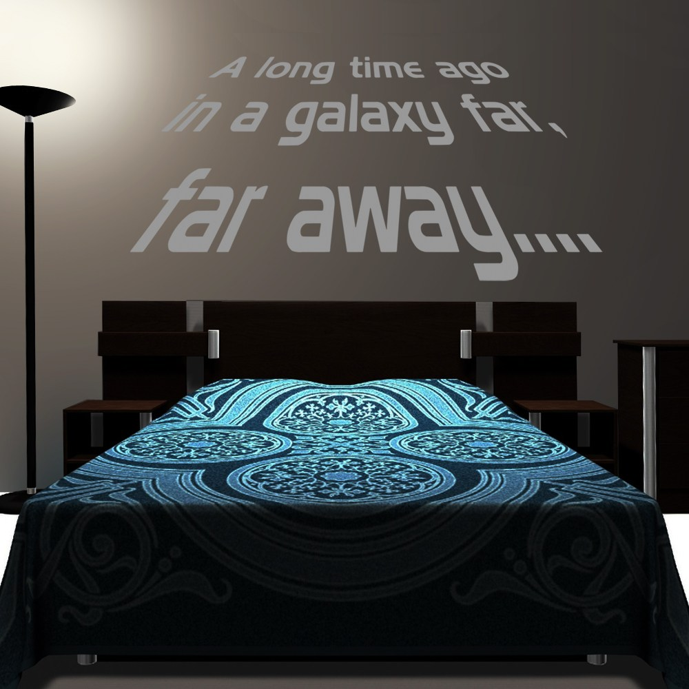 Star Wars Wall Decals A Long Time Ago