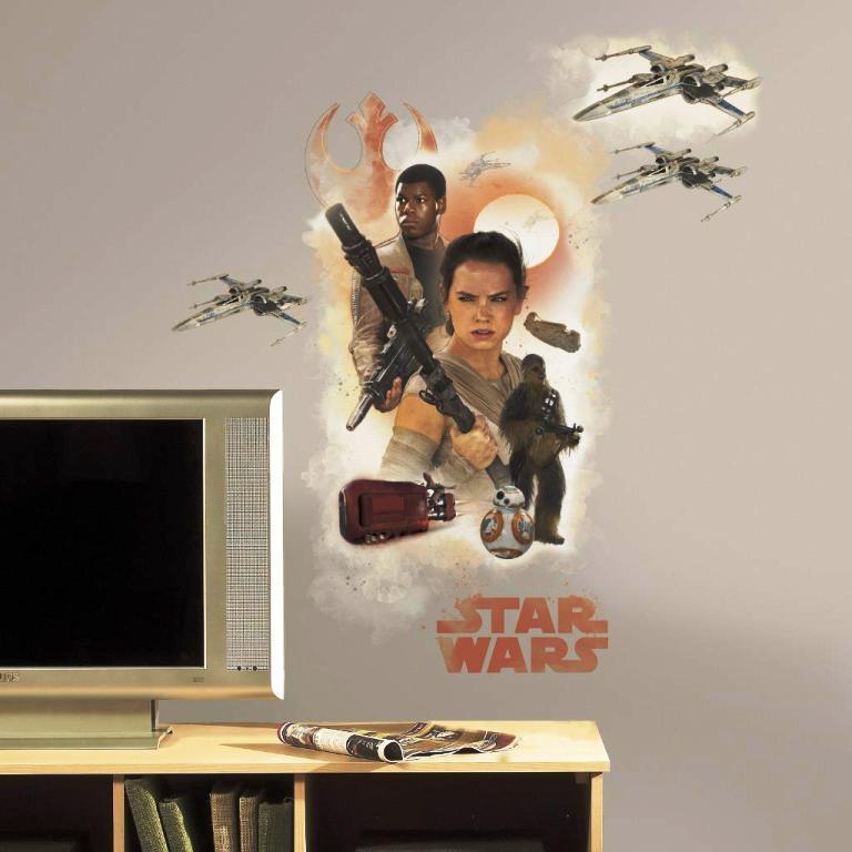 Star Wars Wall Decals For Kids Rooms