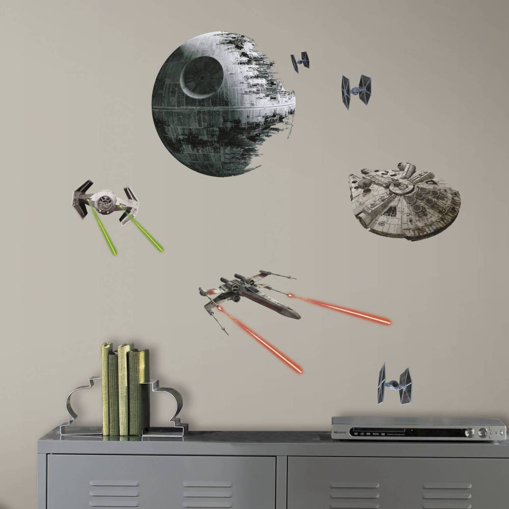 Star Wars Wall Decals Walmart