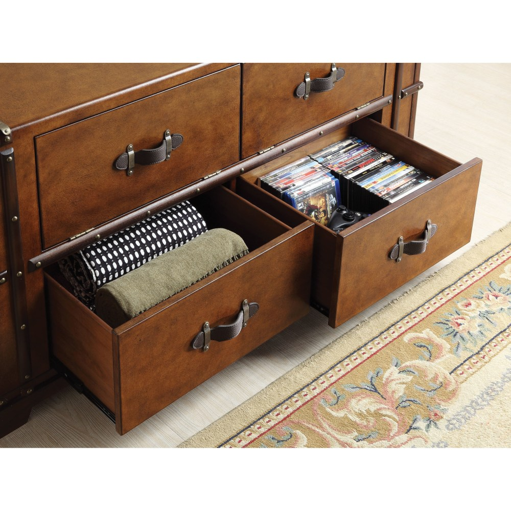Steamer Trunk Tv Stand