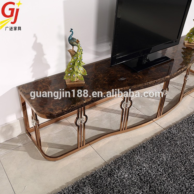 Steel Frame Tv Stand