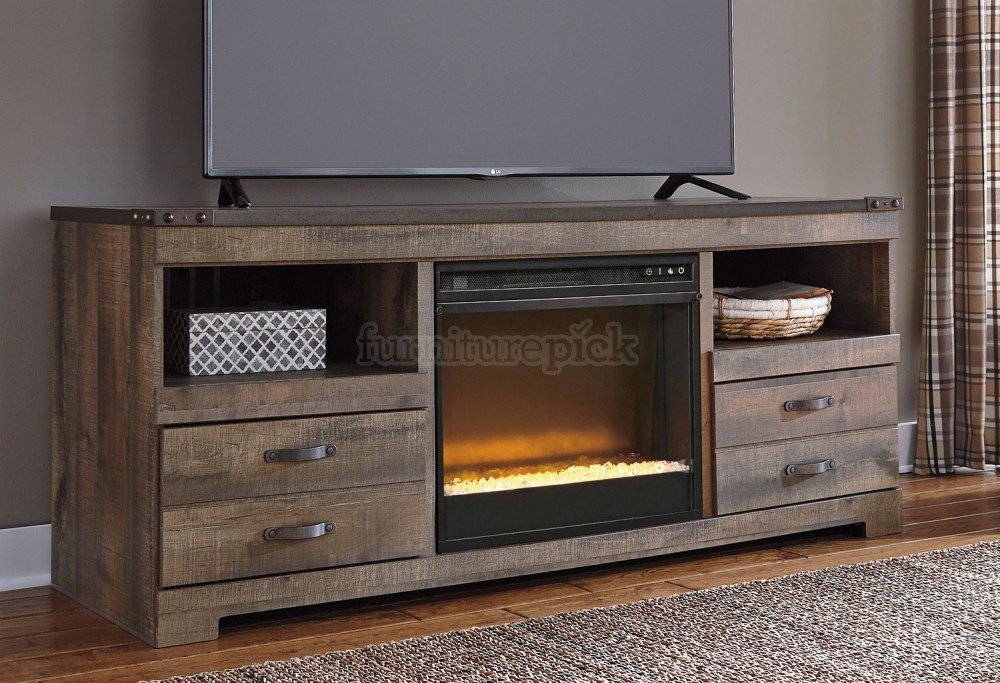 Stone Fireplace Tv Stand