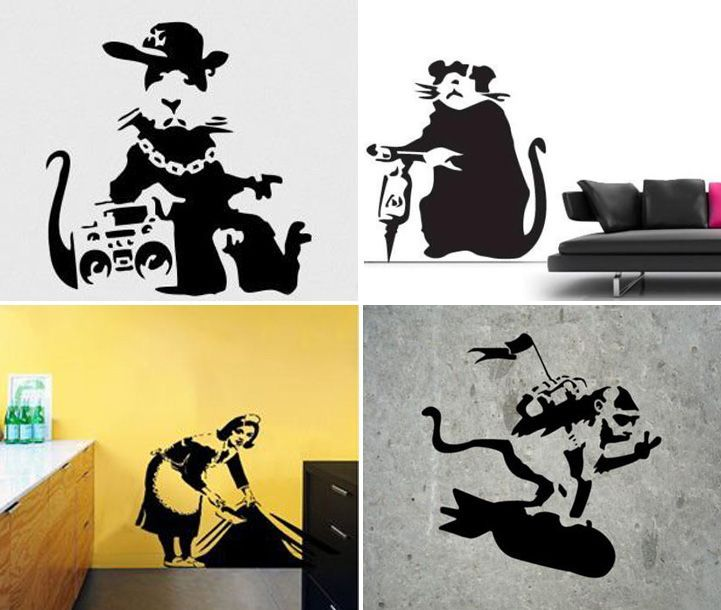 Street Art Wall Decals