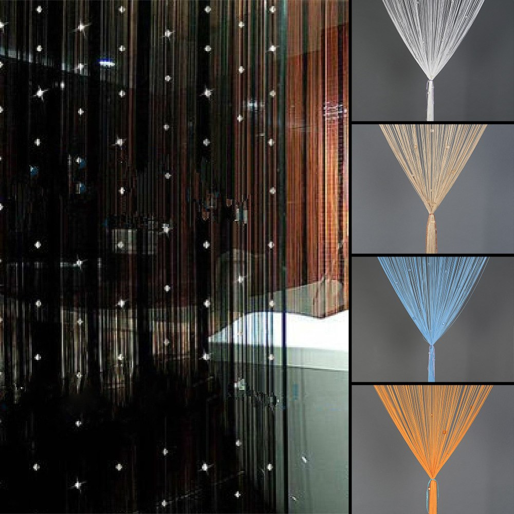 String Curtains Room Dividers