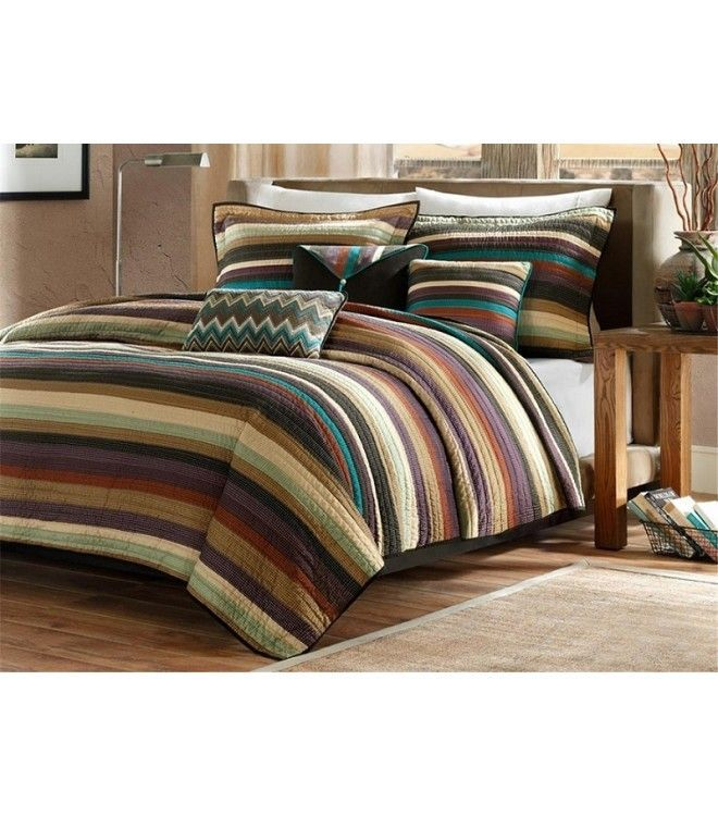 Striped Comforter Sets Queen