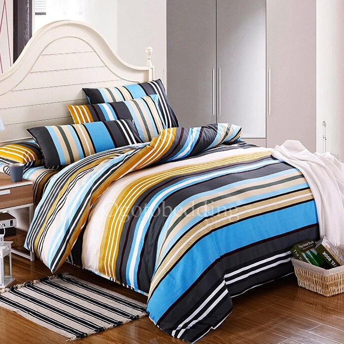 Striped Comforter Sets